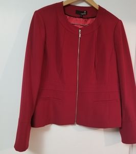 Red Plus Size Jacket ( NWT)